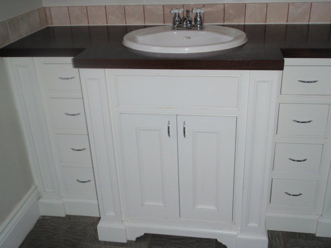 Custom 5' Bathroom Vanity