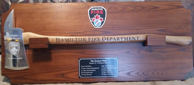 IAFF of Canada Custom Retirement Plaques